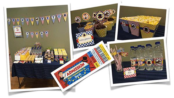 décoration pour anniversaire enfants